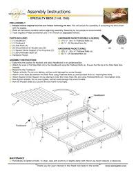 Wesley Allen Headboards Only by How To Wesley Allen Bed Assembly Instructions