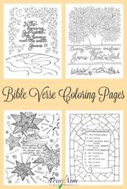 6 Awesome Bible Verse Coloring Pages Free Printables