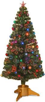 National Tree Company 6 Ft Fiber Optic Artificial Christmas Floor Decor