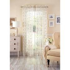 Sheer Curtains At Walmart by Walmart Sheer Curtain Panels 91 Inspiring Style For U2013 Aidasmakeup Me
