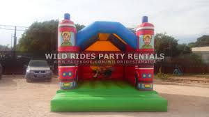 100 Big Red Fire Truck Bounceabout Enclosed