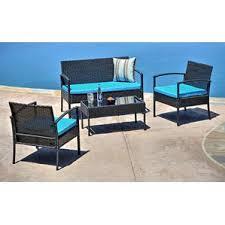 Broyhill Outdoor Patio Furniture by Teak Patio Conversation Sets You U0027ll Love Wayfair
