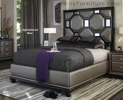 Black King Bedroom Sets Black yx Upholstered King Bed Master