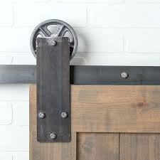 Barn Door Pulleys Kit Industrial Style Hardware Sliding Aspen Flat ... How To Mount A Barn Door Using Tc Bunny Hdware From Amazon Doors Looks Simple And Elegant Lowes Rebecca Interior Sliding Locks For Bypass Pulley Asusparapc Suppliers And Manufacturers At Track Wheel Roller Pair Ironandalloy Pulleys Modern A Small Closet This Is The Industrial Minimalist Sliding Barn Doors Ideas For The House To Get Privacy Add Lock Your