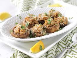 Olive Garden Stuffed Mushrooms Copycat Recipe Genius Kitchen