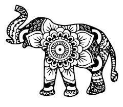 Elephant Mandala SVGDXFEPS Files By ShelbysSouthernCuts On Etsy