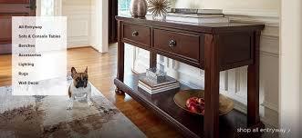 Narrow Sofa Table Australia by Table Surprising Powell Furniture Masterpiece Demilune Sofa Hall