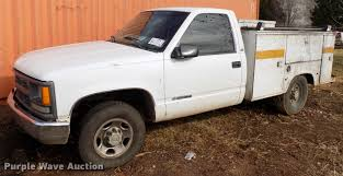 100 Utility Bed Truck For Sale 1998 Chevrolet C3500 Utility Bed Truck Item DD3560 SOLD
