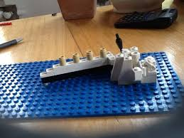 Lego Ship Sinking 3 by Micro Scale Titanic Sinking A Lego Creation By Mischa De Vries