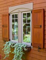 Full Size Of Accessoriesgreat Rustic Building Exterior Window Shutters In Brown And White Models
