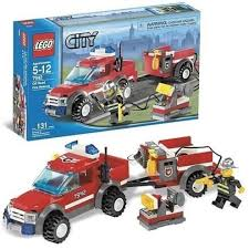 100 Lego City Tow Truck LEGO 7942 OffRoad Fire Rescue On OnBuy