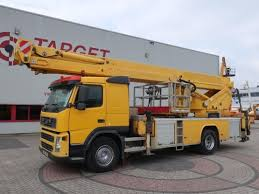 100 Truck Mounted Boom Lift Volvo FM9 Bronto S46XDT Work 4550cm Boom Lift Truck Snlcom