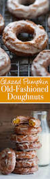 Pumpkin Cake Mix Donuts by Pumpkin Old Fashioned Doughnuts With Glaze Recipe Little Spice Jar