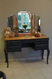 le ancienne de bureau coiffeuse style louis xv patinée à l ancienne relooking meubles