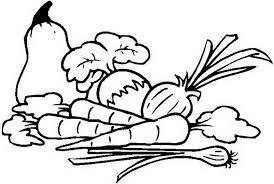 Coloring Pages Fresh Fruit And Vegetables 662149 For Free 2015