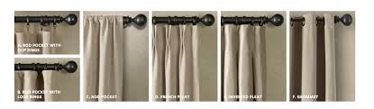 Restoration Hardware Estate Curtain Rods by Curtain Rods Restoration Hardware Scifihits Com