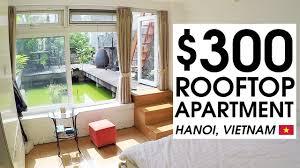 100 Apartment In Hanoi 300 TINY ROOFTOP APARTMENT TOUR In HANOI LIFE IN VIETNAM