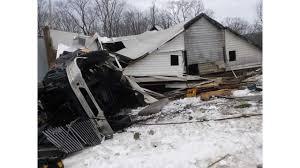 Truck Destroys A Wellersburg Church