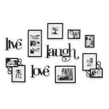 WallVerbsTM 10 Piece Live Laugh Love Wall Collection