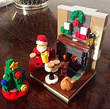 Pickle On The Christmas Tree Poem by Chez Maximka Lego Santa U0027s Visit Christmas Seasonal Set