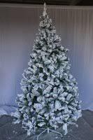 8 Snow Flocked Artificial Christmas Tree