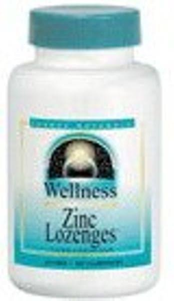 Source Naturals Wellness Zinc Lozenges - Peach Raspberry