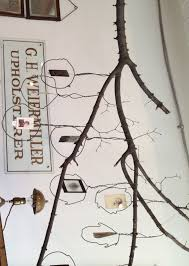 l arbre a cadre la photo du jour une suspension branche pour cadres vintage