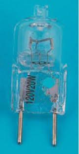 10pcs lot g8 110v 120v 20w halogen l bulb 110v g8 spotlights