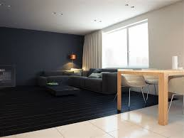 Stunning Minimalist Living Room Of The Q2 Apartment