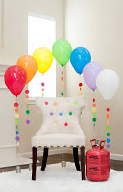 Simple Birthday Decoration Ideas At Home With Balloon Cool Balloons Cheap