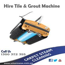 grout cleaning diy hire machine