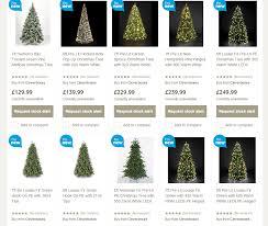 Pre Lit Pop Up Christmas Tree Uk by Uk Tesco Christmas Trees Highlight 2014 Seasonal Forum