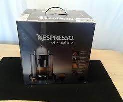 Nespresso GCA1 US CH NE VertuoLine Coffee And Espresso Maker Chrome