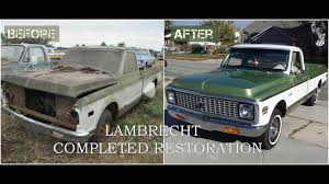 Lambrecht Field Of Dreams 1972 Chevy Restoration - Part Three (THE ... 1987 Chevy 1500 Truck Restoration Update Borla Exhaust Parts Speedway Motors Bolttogether 4754 Frame Rod Authority 1958 Pickup Panel Trucks Chevygmc Trucks 1971 Chevrolet Ac And Heater Classic 1968 C10 Custom Cars Fire Truck Shanes Car 1938 Repairs Of Metal Work 1957 Alternator Cversion Best Resource 1961 Maintenancerestoration Oldvintage Vehicles Body Bench Seat Need For Speed Payback Derelict Guide 1965 Stepside