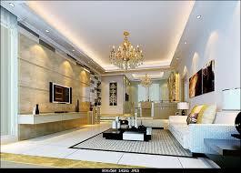 3d modell der modernen mode gold wohnzimmer mit material
