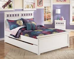 Zayley Dresser And Mirror by Zayley B131 Full Panel Bed With Trundle Storage Box