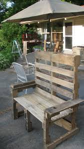 Pallet Outdoor Chair Plans by 319 Best Pallet Projects Images On Pinterest Pallet Ideas Diy