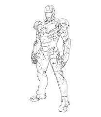 Good Iron Man Coloring Pages 22 In Free Colouring With