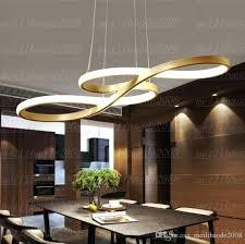 Dining Hanging Lights New Minimalism Modern Led Pendant For Room Bar Suspension