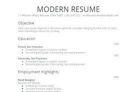 Resume Outline Sample Easy Samples Simple Job Template Formal