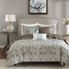 Hudson Park Bedding by Madison Park Geneva 6 Piece Quilted Coverlet Set Ebay