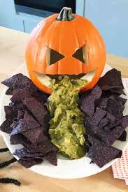 Vomiting Pumpkin Dip by 40 Easy Halloween Appetizers Recipes U0026 Ideas For Halloween Hors