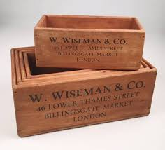 Rectangle Wooden Crates