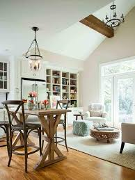 High Ceilings And Pendant Lights