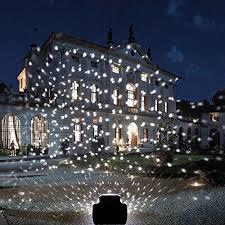Projector Lights YMing Rotating Waterproof led Snowflake lights