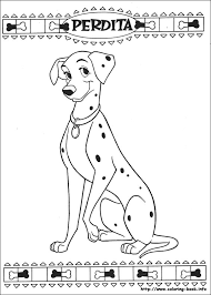101 Dalmatians Coloring Page From Book