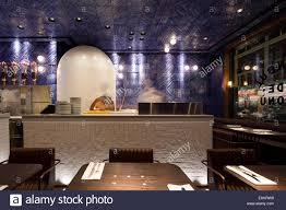 100 Autoban View Of The Kitchen Babaji London United Kingdom Architect Stock