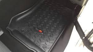 Quadratec Vs Rugged Ridge Floor Liners by Hidprojectors Com Project Jkur Part 2 Rugged Ridge Floor Liner