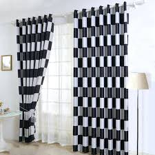 White And Gray Striped Curtains by Curtains Black And Grey U2013 Rabbitgirl Me