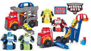 TRANSFORMERS RESCUE BOTS FLIP RACERS AND MEGA BLOKS FAST TRACKS ...